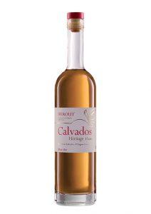 Bouteille de Calvados Héritage AOC 12 ans d'âge Hérout