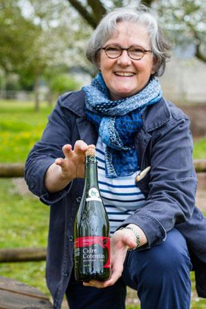 Marie-Agnès Hérout présente le Cidre Cotentin AOC
