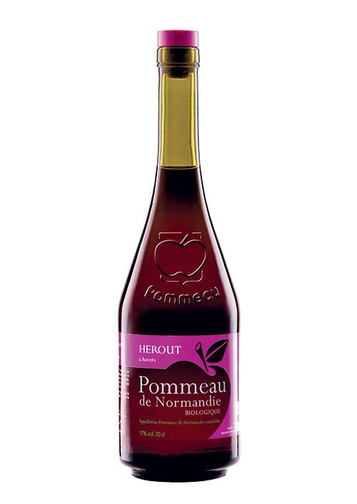 Bouteille du Pommeau de Normandie AOC bio Hérout