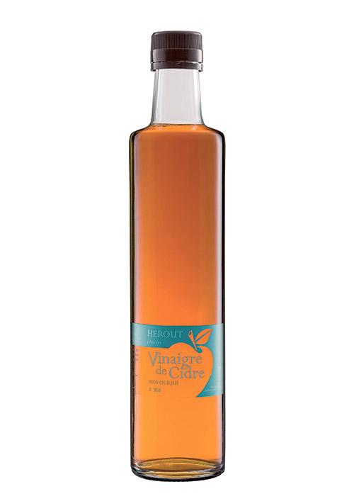 Bouteille du Vinaigre de Cidre bio Hérout