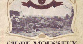 Ancienne étiquette du Cidre de la cidrerie Hérout