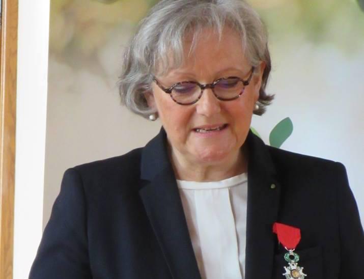 Marie-Agnès Hérout remise de la Légion d'honneur