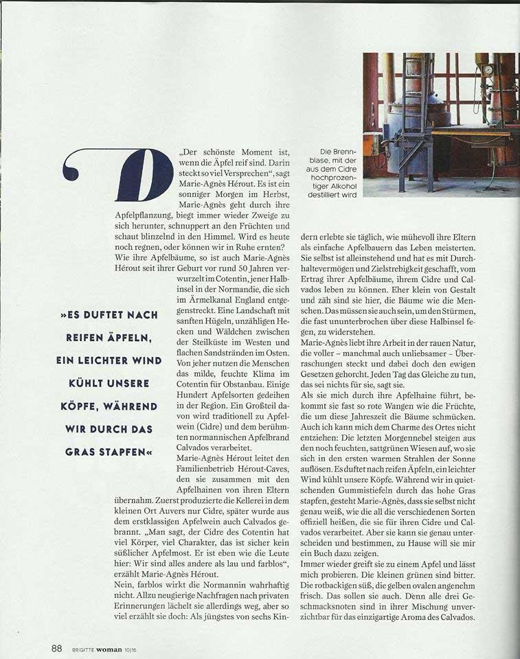 Page 3 article BRIGITTE