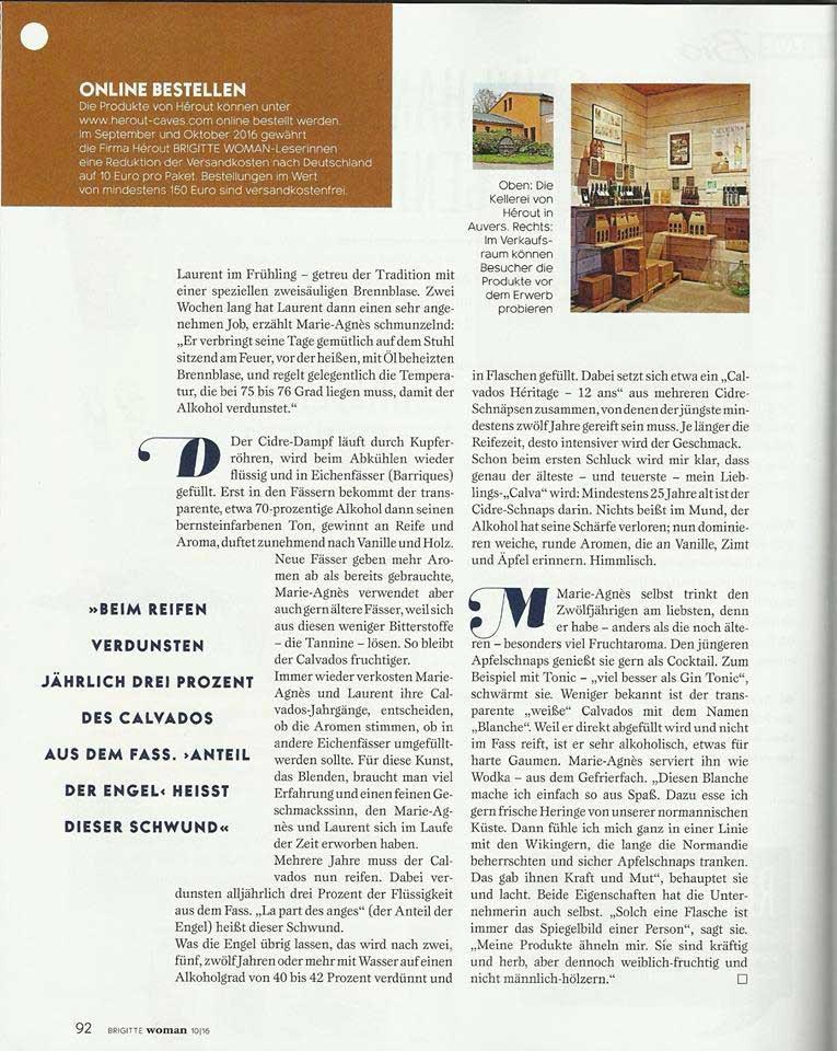 Page 6 article BRIGITTE